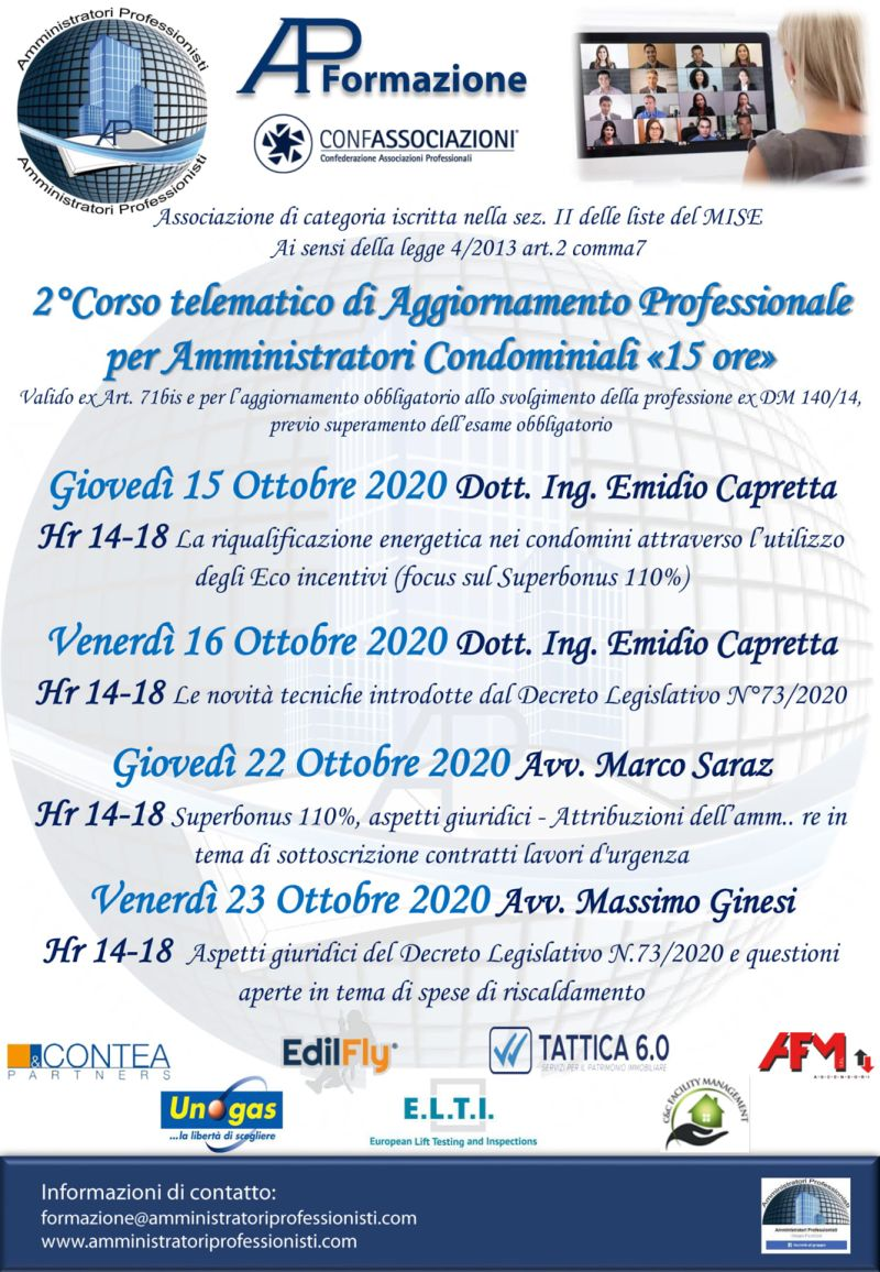 corso DM 140/2014